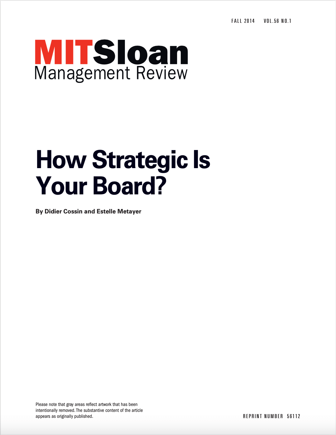 How Strategic is your board
